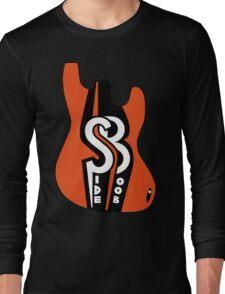 Side Boob Band Logo Merchandise Long Sleeve T-Shirt