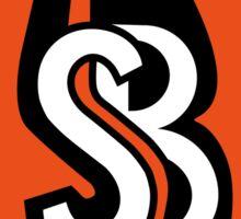Side Boob Band Logo Merchandise Sticker
