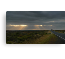 Dawn over the Great Ocean Road Canvas Print