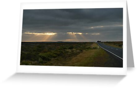 Dawn over the Great Ocean Road by Peter Zentjens
