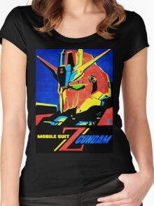 Zeta Gundam Women's Fitted Scoop T-Shirt