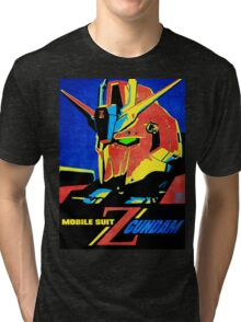 Zeta Gundam Tri-blend T-Shirt
