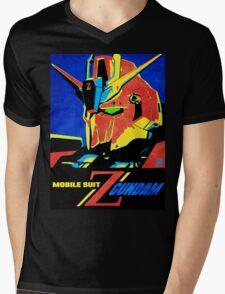 Zeta Gundam Mens V-Neck T-Shirt