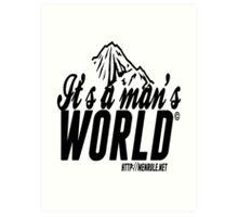 #IAMW Logo Art Print