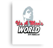 The Man Logo Metal Print