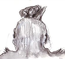 back of Betsy's head by WoolleyWorld