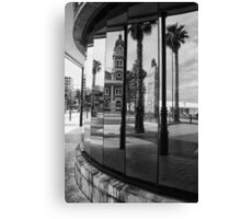 Mirror on Glenelg Canvas Print