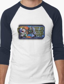 Star Wars - These Are Not The Droids You're Looking For Men's Baseball ¾ T-Shirt
