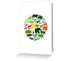 Animals Greeting Card