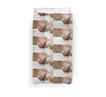 Ringed Neck Pheasant Duvet Cover
