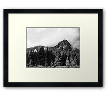 Crossing Snoqualmie Pass Framed Print