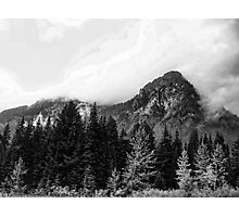 Crossing Snoqualmie Pass Photographic Print