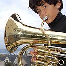 Mason Tuba on the San Francisco Bay by Diane Philips