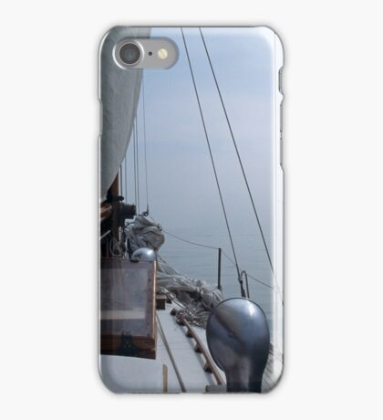 Sailing into the Unknown iPhone Case/Skin