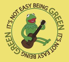 It's Not Easy Being Green One Piece - Short Sleeve