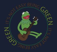 It's Not Easy Being Green Kids Tee