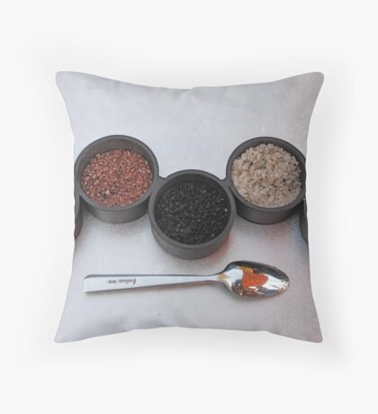 Salts of the Earth Throw Pillow