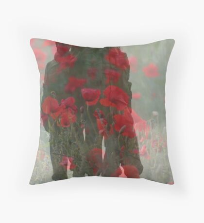 United We Conquer Throw Pillow