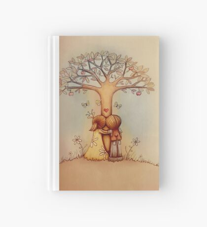 underneath the apple tree Hardcover Journal