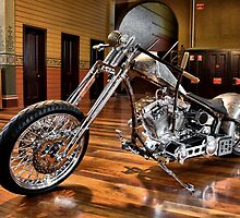Custom Chopper by Steven  Agius