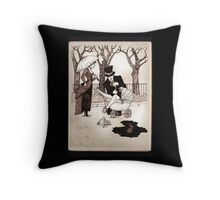 Nanny and Someone Spoiled Throw Pillow