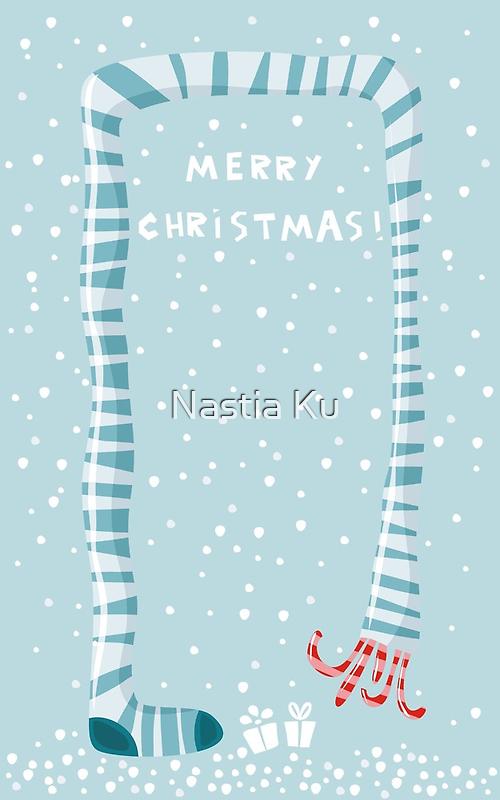 merry xmas 4 by Anastasiia Kucherenko