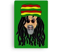 Rastafarian Canvas Print