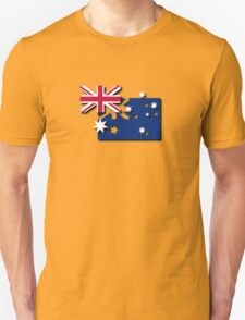 Layered Australian Flag T-Shirt T-Shirt