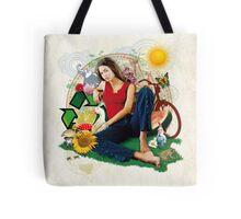 Eco Girl Tote Bag