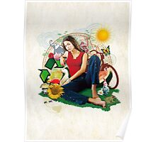 Eco Girl Poster