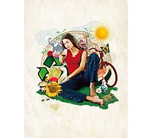 Eco Girl Photographic Print
