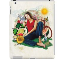 Eco Girl iPad Case/Skin