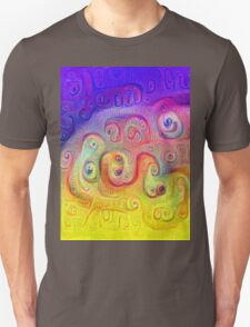 DeepDream Violet to Yellow 5K Unisex T-Shirt