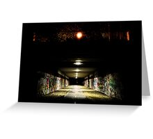 Parkville Tunnel Greeting Card