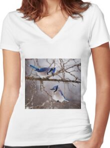 Blue Jays - Shirley's Bay, Ottawa Women's Fitted V-Neck T-Shirt