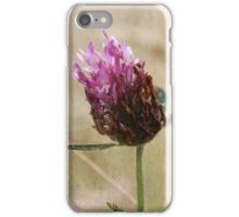 Clover and Wild Grasses iPhone Case/Skin