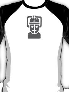 cyberman robot - grey T-Shirt