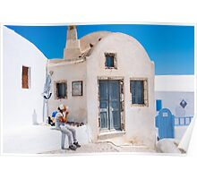 Santorini, Greek Islands Poster