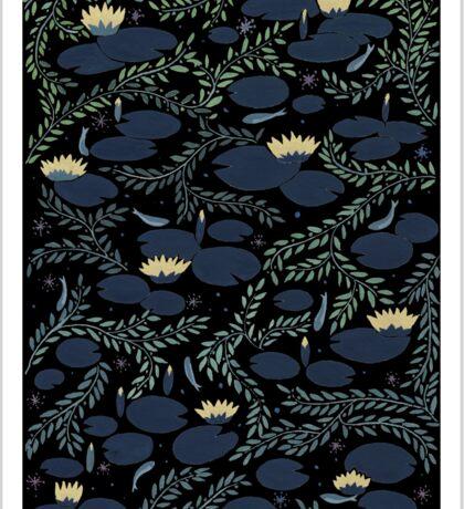 waterlily Sticker