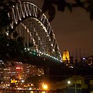 Sydney Harbour Bridge 3 by Bernie Stronner