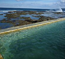 Merewether Baths Calling by smithrankenART