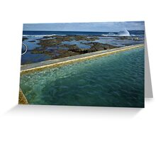 Merewether Baths Calling Greeting Card