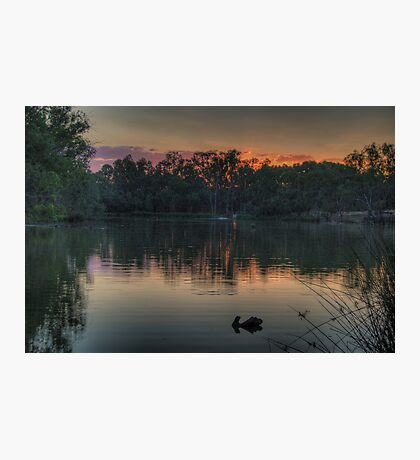 Recollections -Murray River, NSW Australia - The HDR Experience Photographic Print
