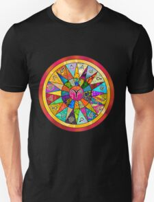 ARIES tapestry of life mandala  T-Shirt