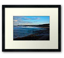 Across Sandsend Wyke Framed Print
