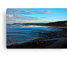 Across Sandsend Wyke Canvas Print