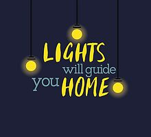 LIGHTS WILL GUIDE YOU HOME by Alison Huang