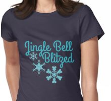 Jingle bell blitzed  Womens Fitted T-Shirt
