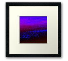 Digital Water Patterns 10 Framed Print