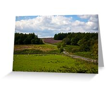 Moors Road Greeting Card
